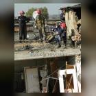 На місці вибуху в Мукачево працюють рятувальники (ФОТО)