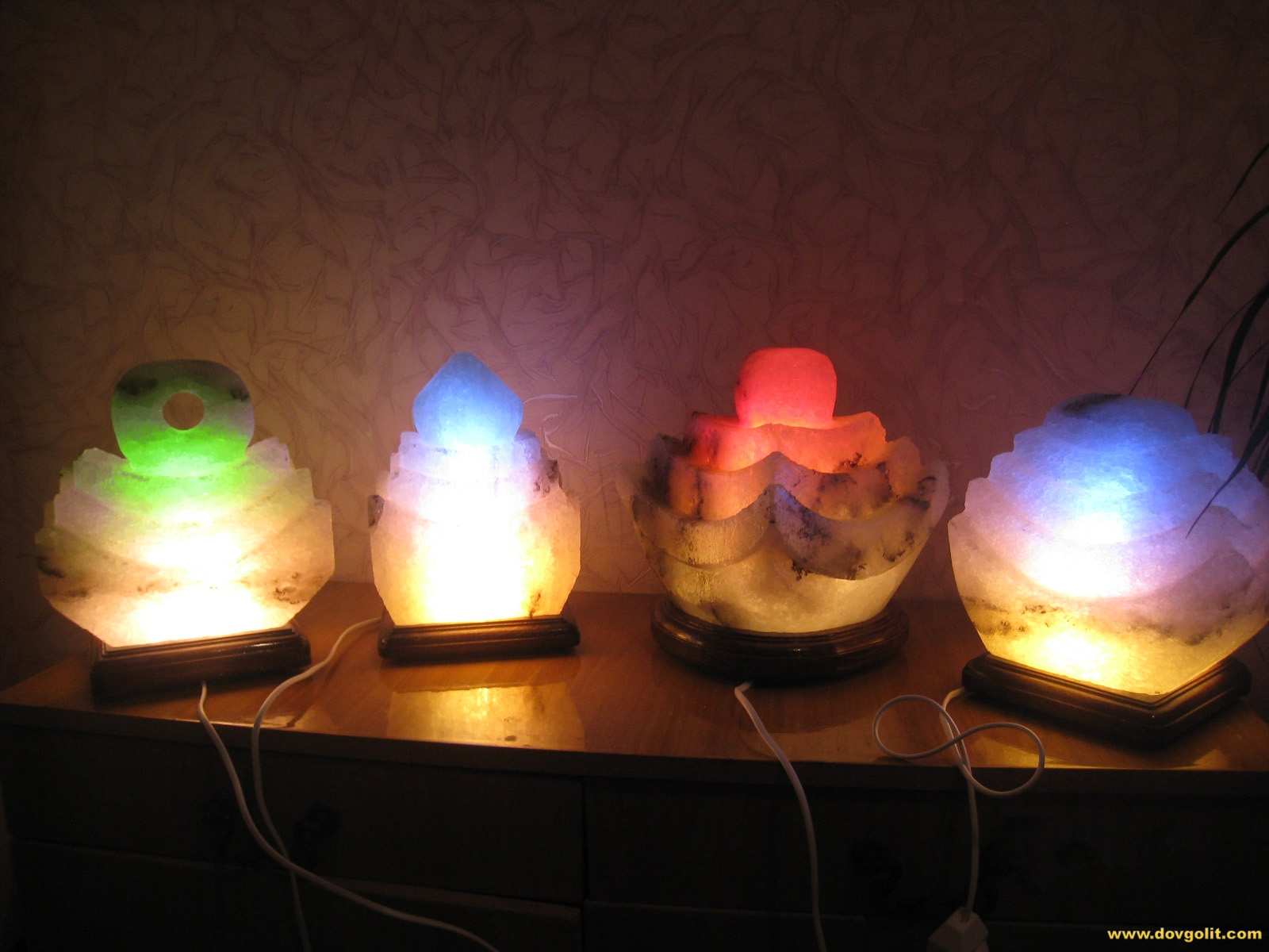 Соляная лампа сделать